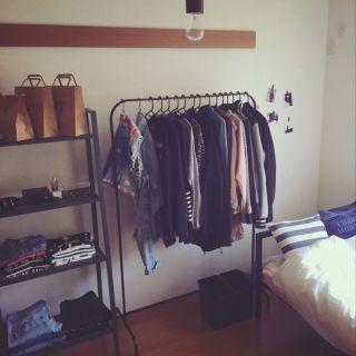 「MULIG/洋服ラック/ブラック(サイ…」の商品情報 | RoomClip(ルームクリップ)