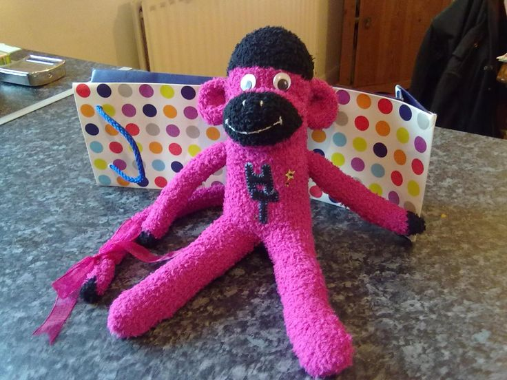 Sock Monkey made July 2012