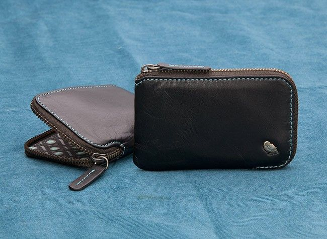 Very Small Wallet - Teeny size without much compromise. Hold your cards securely without breaking your silhouette (great for suits or skinny jeans). Best for reasonably organised wallet people (requires bill folding). Features:     One of the slimmest wallets available     Internal pocket for folded bills     Premium vegetable tanned cow leather     Backed by our 3 year warranty