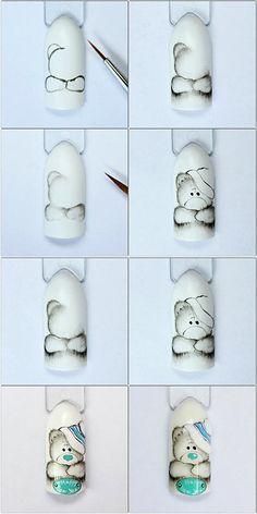 маникюр мишкаманикюр мишка Winter Nails - amzn.to/2iDAwtQ Luxury Beauty - winter nails - http://amzn.to/2lfafj4
