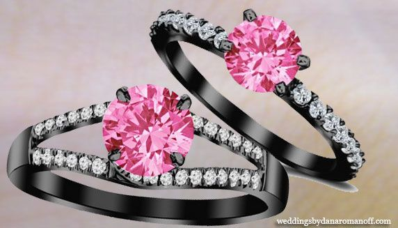 Black Wedding Ring With Pink Diamonds And What You Should Know