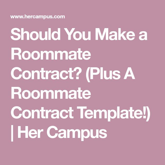 Best 25+ Roommate contract ideas on Pinterest Good colleges - announcer sample resumes