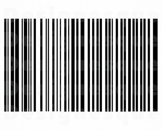 Bar Code Svg Shopping Svg Bar Code Clipart Bar Code Files Etsy In 2021 Clip Art Png Images For Editing Coding