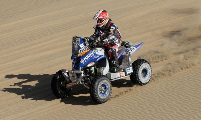 El argentino Patroneli ganó en categoría cuatrimotos.