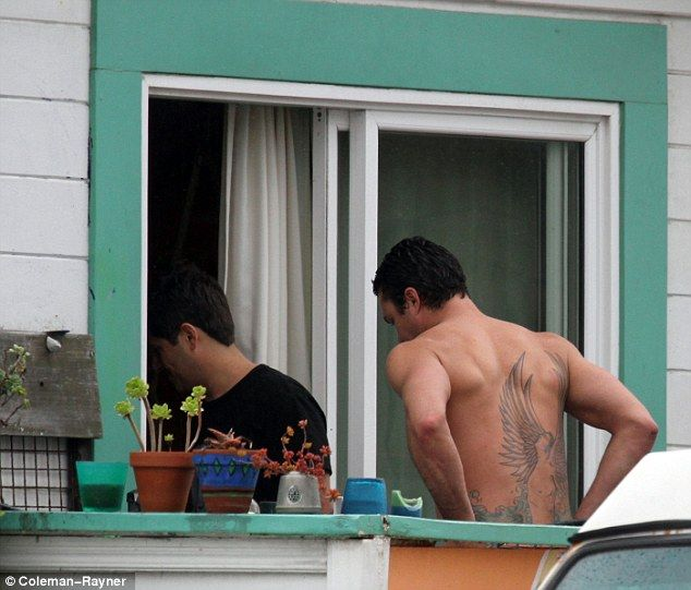 Taylor Kinney Photos of His Tattoo | ... : He also revealed a large angel tattoo which sprawls across his back