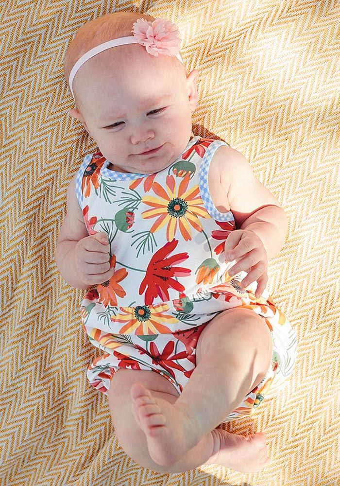 76c3c8fa6 Ticket to Ride Romper - Matilda Jane Clothing - A perfect sister match to  the Enjoy the Ride Dress, this floral romper boasts the most beautiful  floral ...