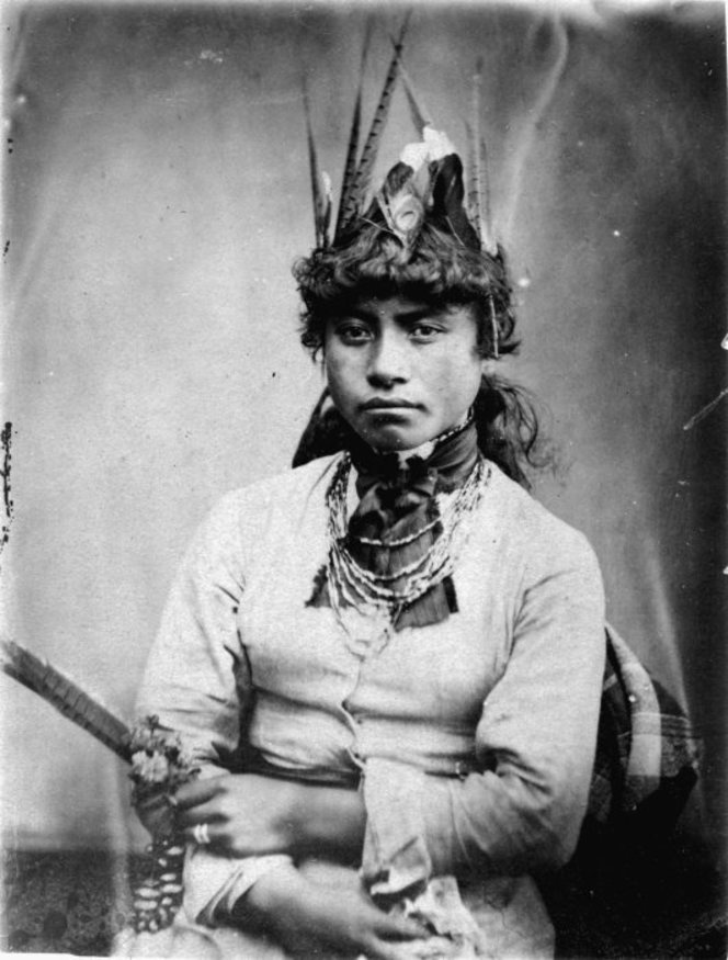 Unidentified Maori woman