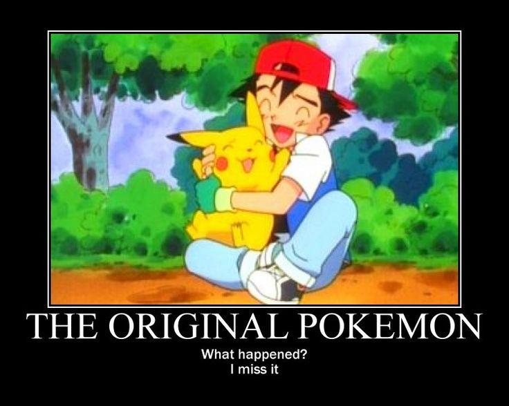 30 best images about A... Original Pokemon Ash