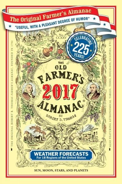 What is 225 years old yet always of the moment? The Old Farmers Almanac! Americas oldest continuously published periodical, beloved by generations for being useful, with a pleasant degree of humor, ce
