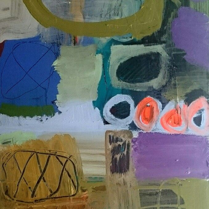 Holly Thomas artist. Contemporary abstract paintings mixed media and artwork