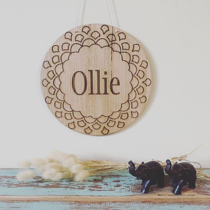 Custom name sign. Laser etched timber name plaque.  Custom orders on etsy store!  great gift idea for birthday, baby shower, new baby, christening, baptism or name day.   Nursery and kids room decor.  Interior inspiration