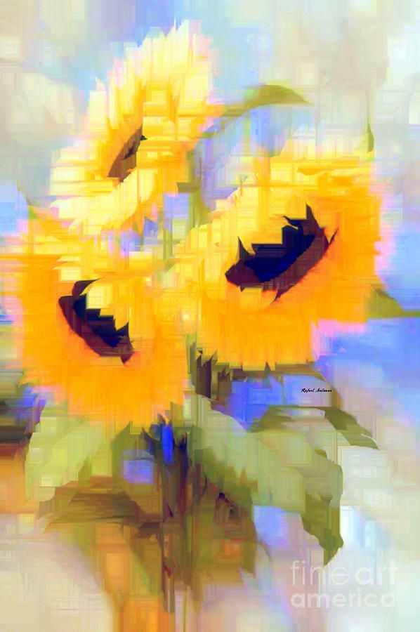 Flower 9235 Digital Art by Rafael Salazar