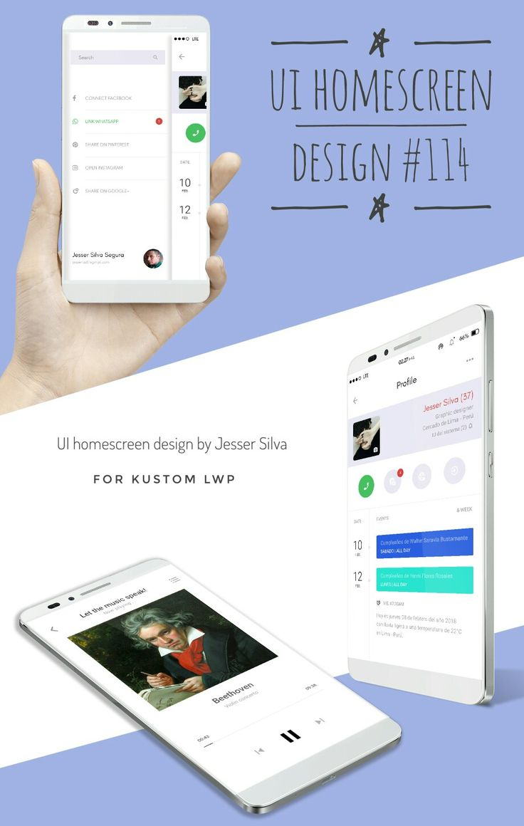 491 best Homescreen images on Pinterest | Android design, App and Apps