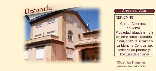 CM481 Arcas del Villar. Cuenca  Chalet  Casa rural en venta http://www.lancoisdoval.es/casas-rurales-en-venta.html