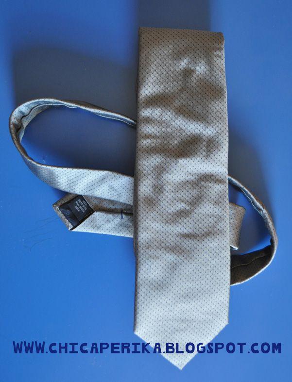 Tutorial de Cómo hacer una corbata para niño a partir de la de un adulto . Manualidades   Tutoriales