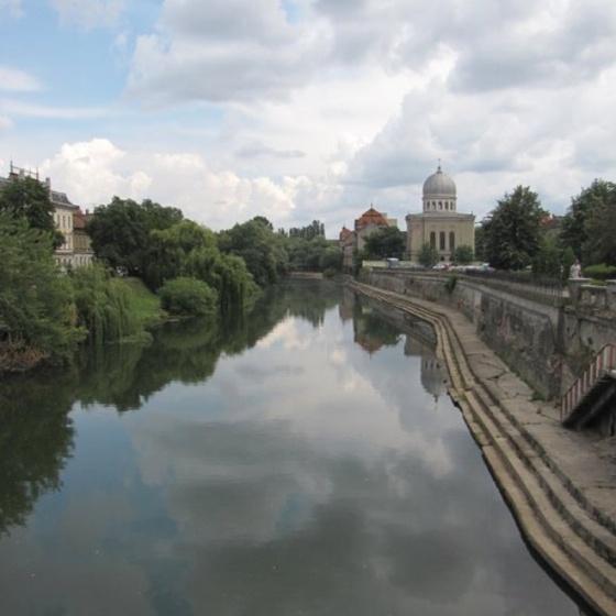 Oradea, Romania - Crisul River