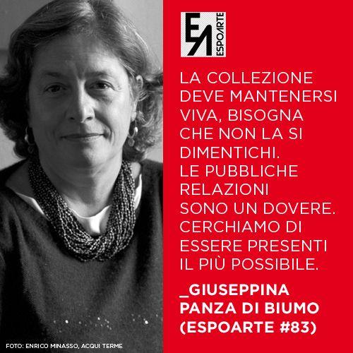 Giuseppina Panza di Biumo - Espoarte #83