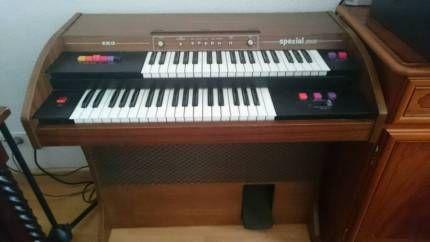EKO Spezial 2000 E-Orgel Dual Topp Zustand in Brandenburg - Rathenow | Musikinstrumente und Zubehör gebraucht kaufen | eBay Kleinanzeigen