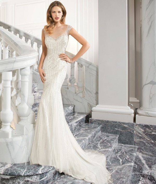 Demetrios Couture 2015 Wedding Dress