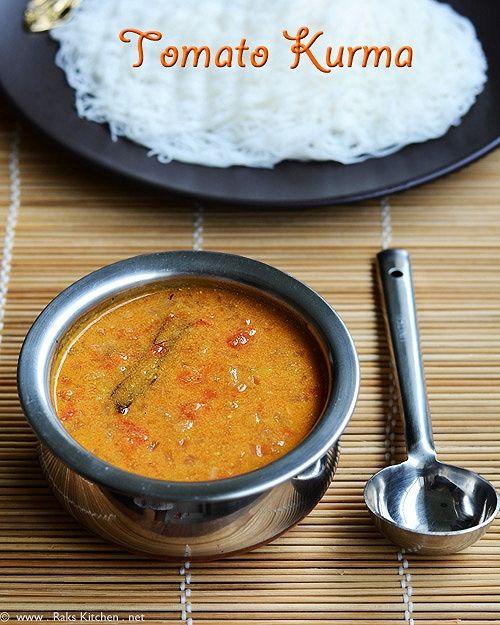 tomato-kurma-for-idiyappam by Raks anand, via Flickr