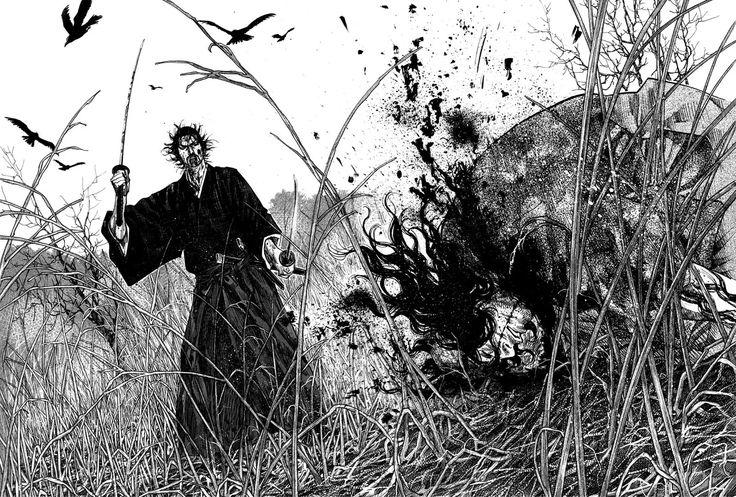 Baseado no livro Musashi, de Eiji Yoshikawa, tem como protagonista é o lendário espadachim Miyamoto Musashi, conhecido no Japão como sendo o maior samurai de todos os tempos. O mangá é um retrato fictício da vida de Musashi, um ronin (samurai que não serve a nenhum mestre) que viajava pelo Japão na procura de grandes adversários para desafiar e, assim, aprimorar-se. A mescla de lutas espetaculares, com a milenar filisofia oriental, além de uma pitada de romance e comédia, torna o mangá…