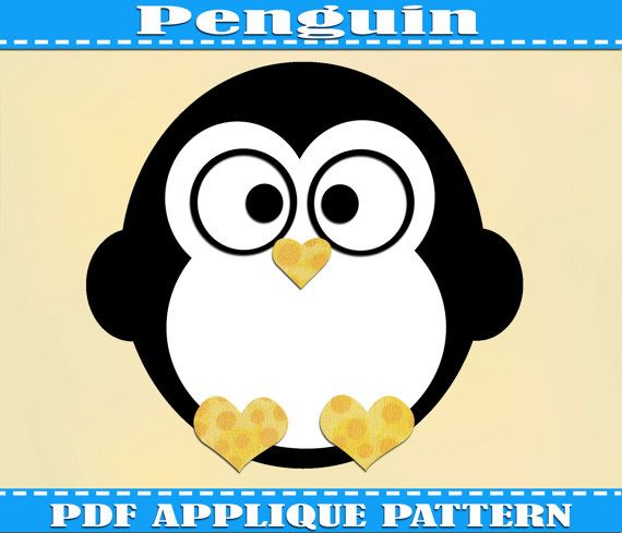 16 best Printable Templates images on Pinterest Molde, DIY and - penguin template