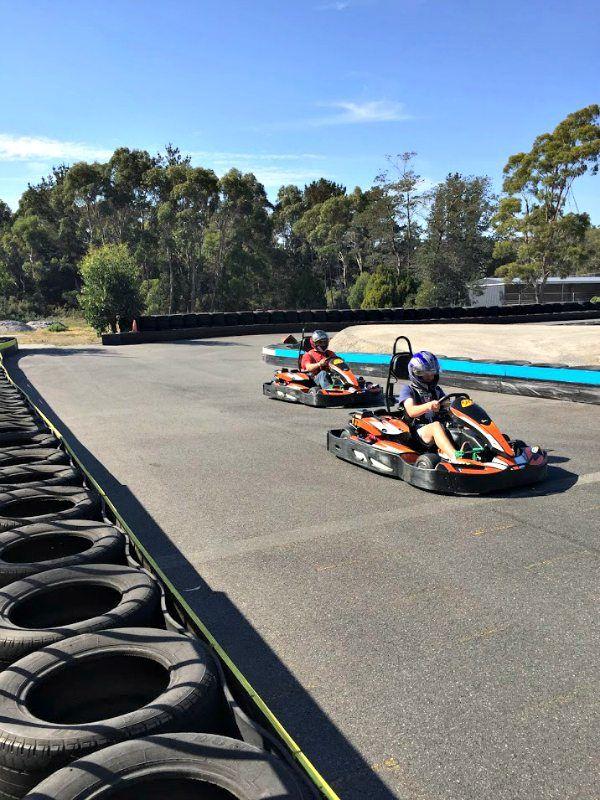 Kart Magic Entertainment Centre ~ article and photo for think-tasmania.com ~ #GoKarts #Latrobe #Tasmania #NorthWestTas #Racing