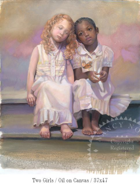 """TWO FRIENDS"" by Nancy Noel *"
