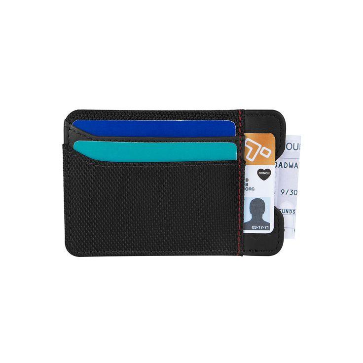 Travelon Safe ID Accent Rfid-Blocking Money Clip Wallet, Adult Unisex, Black