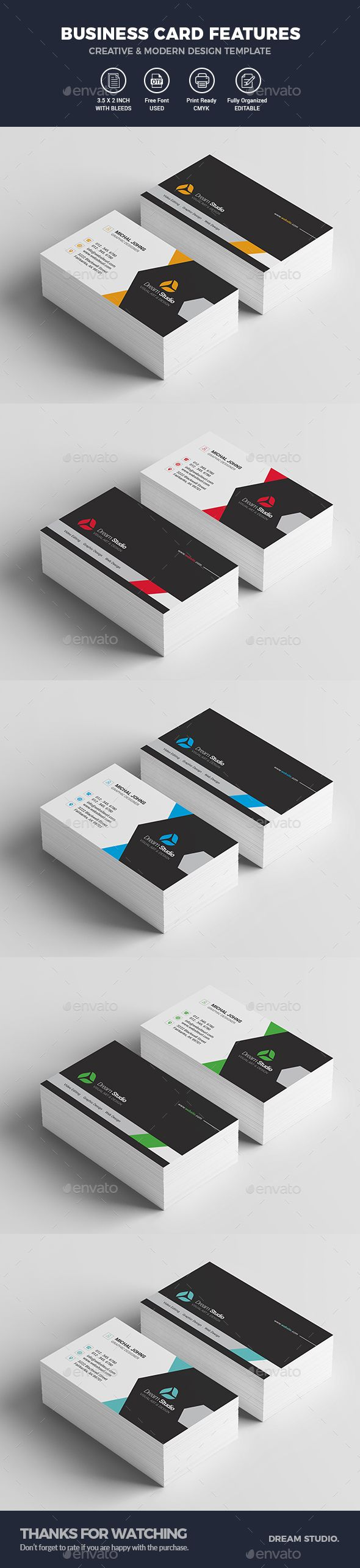 Best 25 modern business cards ideas on pinterest free business modern business card template magicingreecefo Image collections
