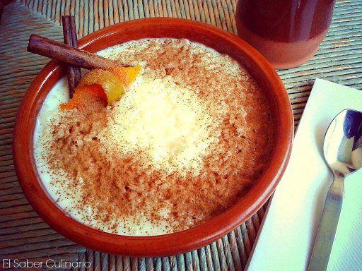 Microondas: arroz con leche. En cuanto acabe con las reservas de Semana Santa, ¡lo hago!