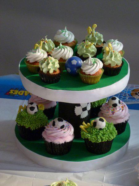 Cupcake Fútbol.