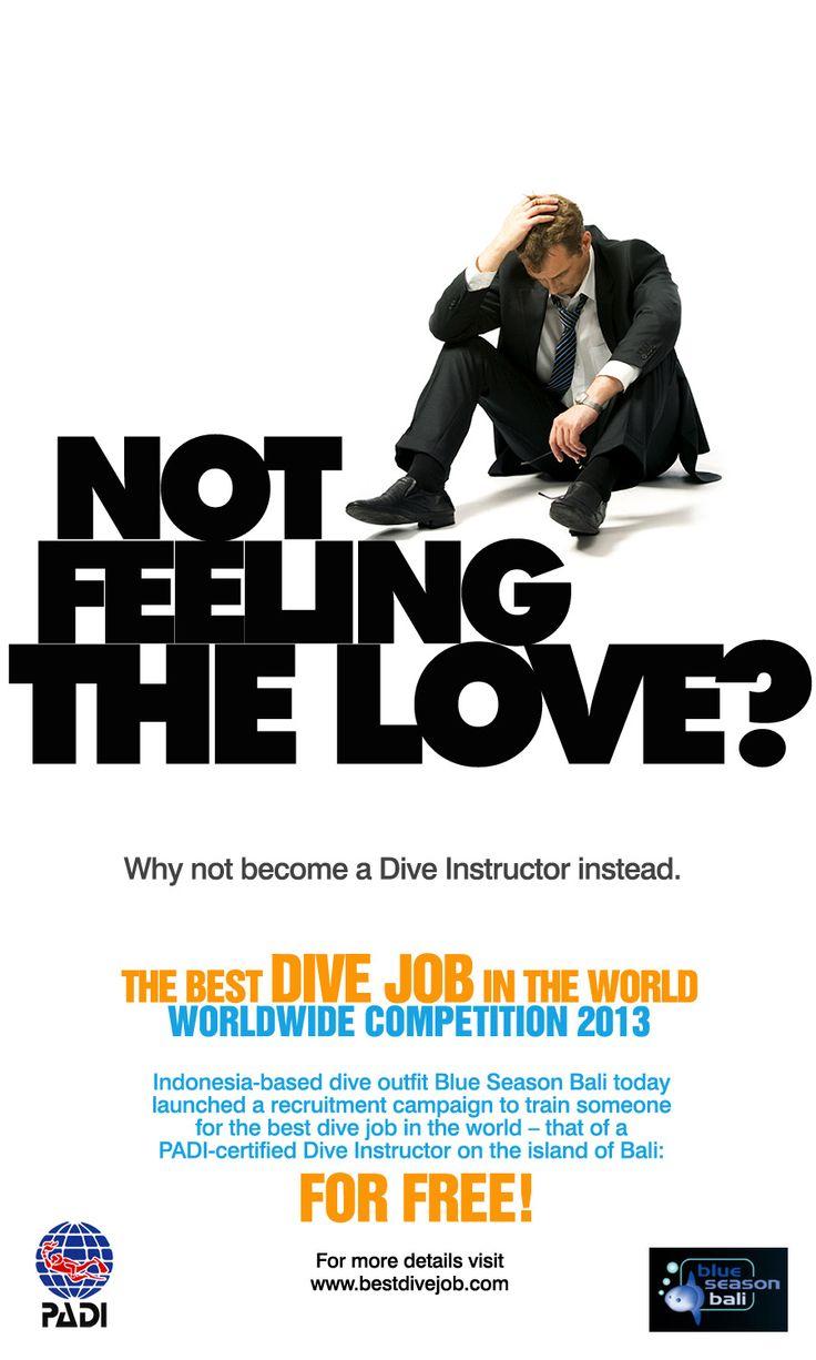 Poster design adobe illustrator - Poster Design Self Promotion For Best Dive Job 2012 Worldwide Competition Work Done Concept Execution Software Used Adobe Photoshop Adobe Illustrator