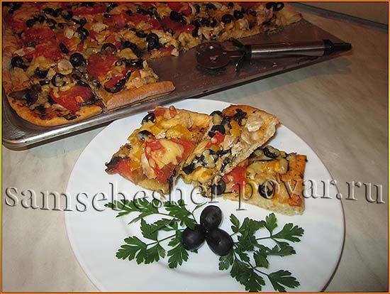 рецепт пиццы с дрожжевым тестом