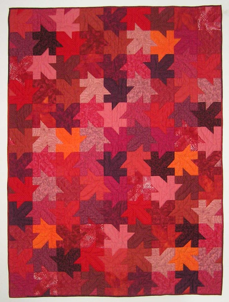 17 best images about quilts tessellations on pinterest negative space quilt and jigsaw puzzles - Fall landscaping ideas a mosaic of colors shapes and scents ...