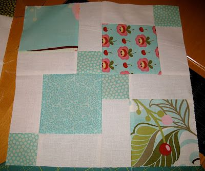 Moda Hunky Dory charm pack quilt using disappearing 9 patch quilt blocks tutorial | Sewn Up