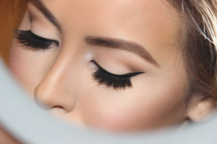 """Eyeshadow: Base- MAC """"Blanc Type""""  – apply all over the eyelid 