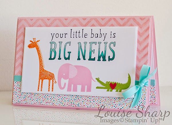 By Louise Sharp | Just Add Ink - Zoo Babies Baby! | Stampin' Up!
