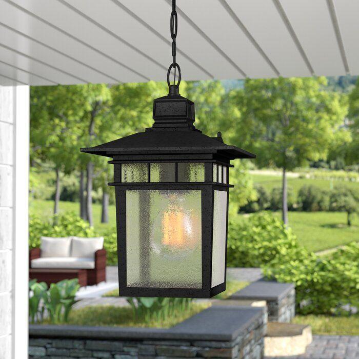Valeri 1 Bulb 12 H Outdoor Hanging Lantern In 2020 Outdoor Hanging Lanterns Outdoor Lanterns Outdoor Hanging Lights