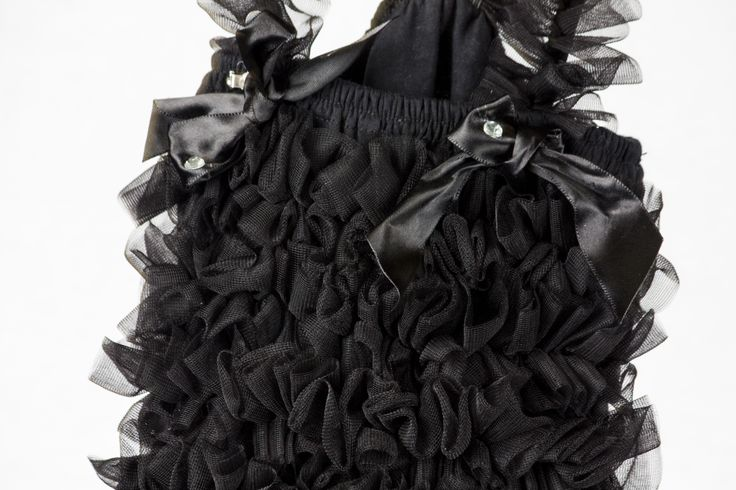 Black bow top found at teablossomkids.com