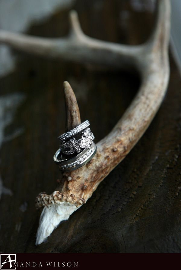 awesome camo wedding engagement rings
