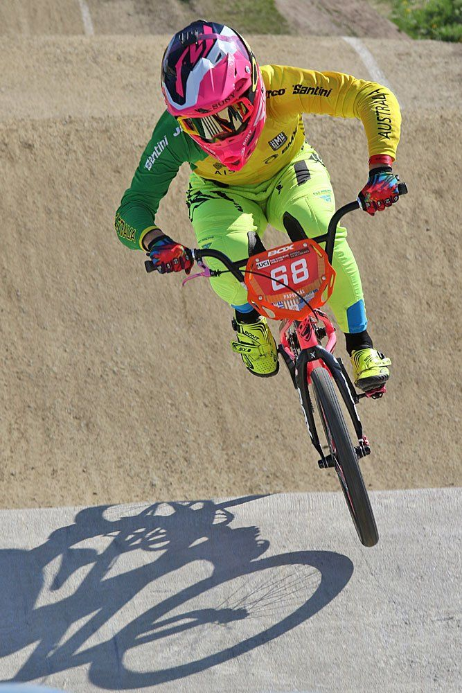 Maxxis US sponsored Caroline Buchanan, leading name in BMX right now! Motivation!