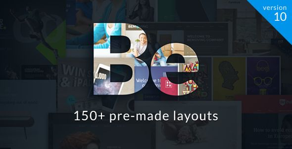 Tema wordpress con 150 layouts
