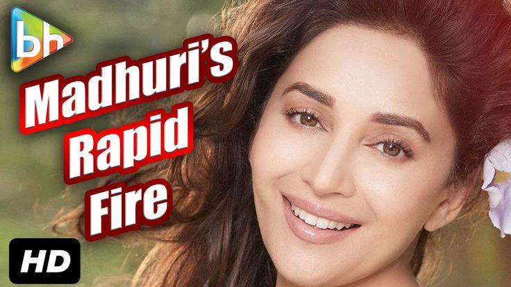 Exclusive Rapid Fire Bollywood Quiz: Madhuri Dixit