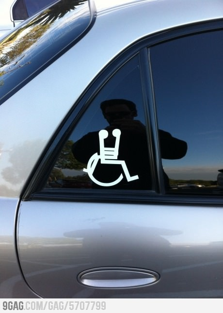 Saw this car sticker in the car park
