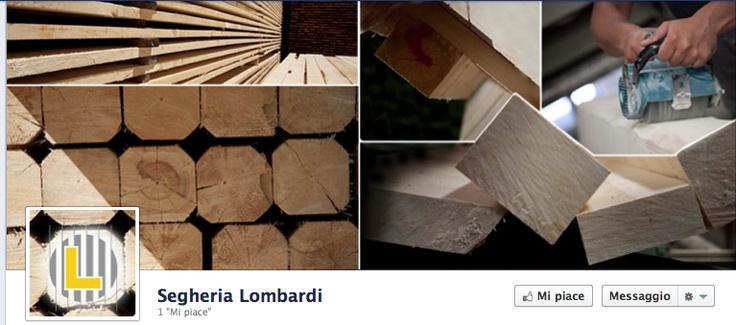 Facebook Covers designed for Segheria Lombardi of Condino, Trentino.