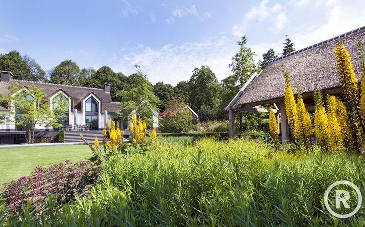 Tuininspiratie De Rooy Hoveniers villa tuin klassieke tuin beplanting border Waspik