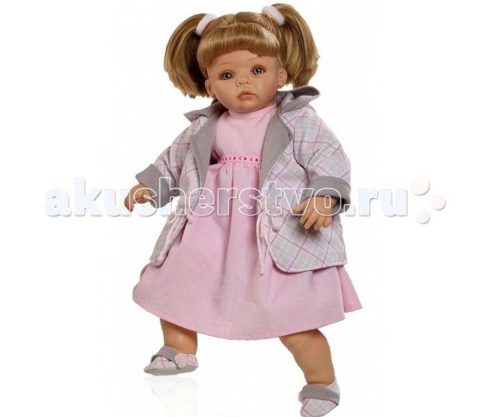 Paola Reina Кукла Рохио 50 см  Кукла Paola Reina Рохио с мягконабивным телом   Особенности:   Уникальный и неповторимый дизайн лица и тела.  Глазки закрываются.  Наряд игрушки и аксессуары можно при необходимости постирать, и они останутся такими же яркими и привлекательными.  Тело куклы выполнено из приятного на ощупь высококачественного винила, который имеет лёгкий аромат ванили.  Материалы, из которых изготовлена игрушка, прошли все необходимые сертификации и проверки на безопасность для…