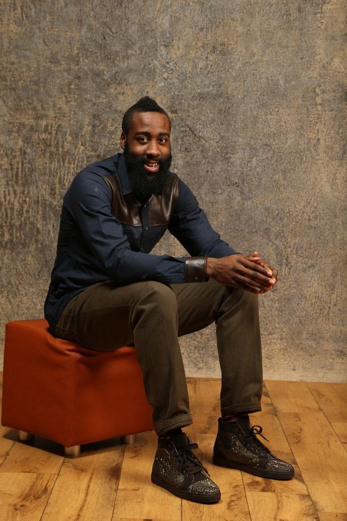 NBA All-Star 2013 Portraits - James Harden