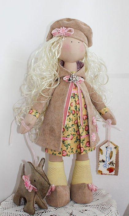 Tilda muñecas hechas a mano.  Masters Feria - hecho a mano de Emily.  Hecho a mano.